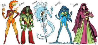 Captain Planet redesigns 2