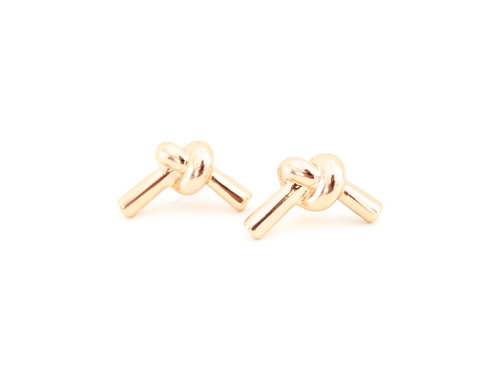 Love Me Knot Stud Earrings | More Colors Available