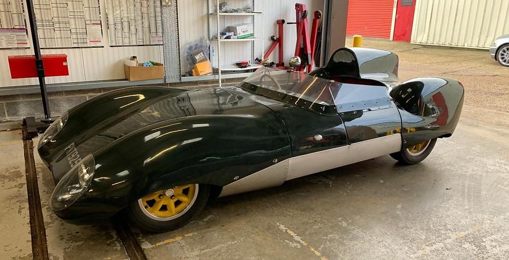 Electric classic car; Electric Lotus XI