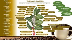 Road Map do Café do Brasil, uma visão panorâmica da inteligência do café