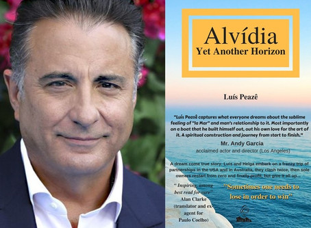 Mr. Andy Garcia review Luís Peazê´s Alvidia, Yet Another Horizon