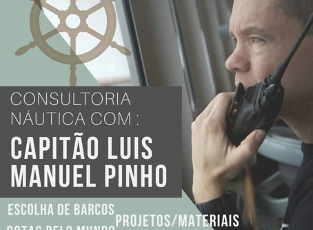 Consultoria náutica de alto calibre - Skype e Whatsapp