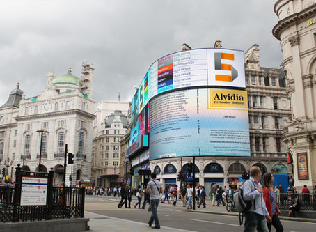 At Piccadilly Circus: Alvidia, Yet Another Horizon