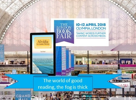 Alvidia at London Book Fair, Yet Another Horizon
