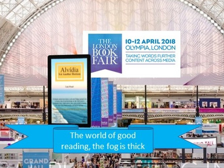 Alvidia at London Book Fair, Yet Another Horizon