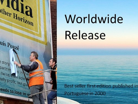 WORLDWIDE RELEASE BEST SELLER ALVIDIA, YET ANOTHER HORIZON by Luís Peazê