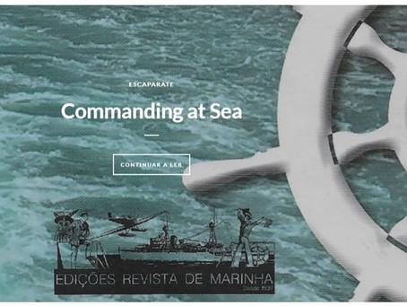 """Palavra """"medo"""" em aula magna de """"Commanding at Sea"""""""