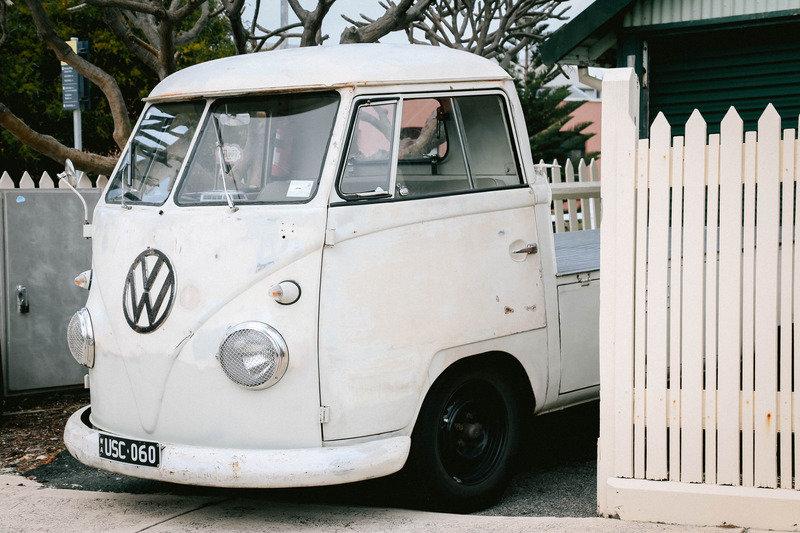Canva - White Volkswagen Vehicle on Park