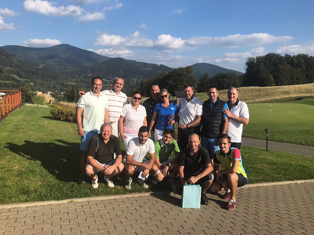 Hrivík golf cup Ostravice 2018 - Tím P.Ž.G.K.