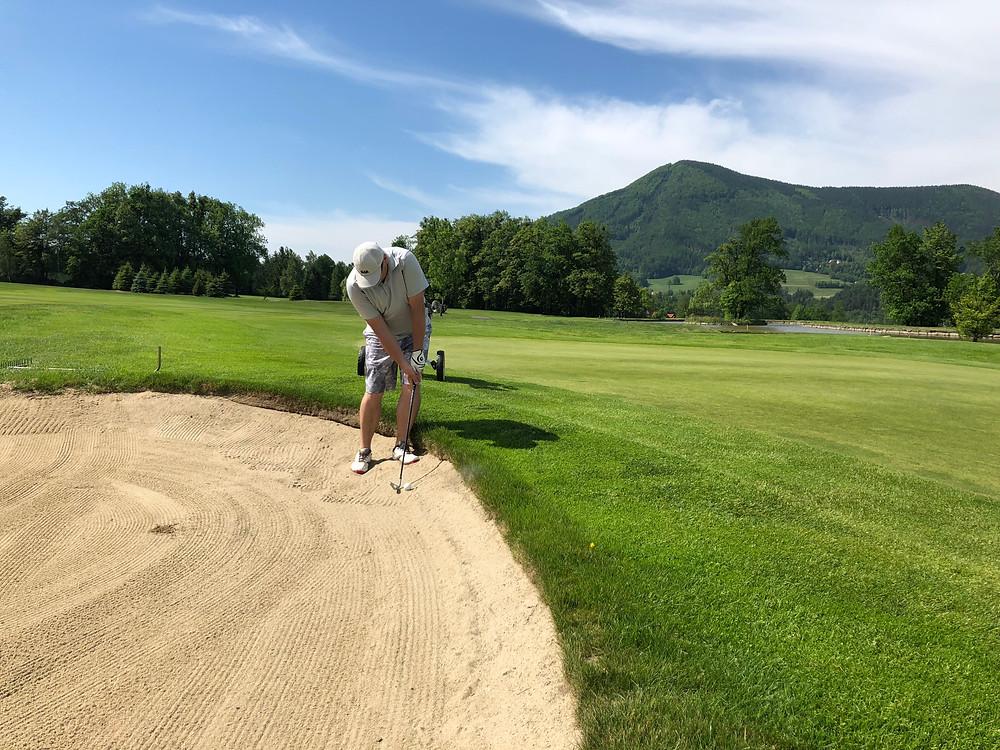 Juraj Hrivík, víťaz kola GolfZon Tour 2018 Red OAK