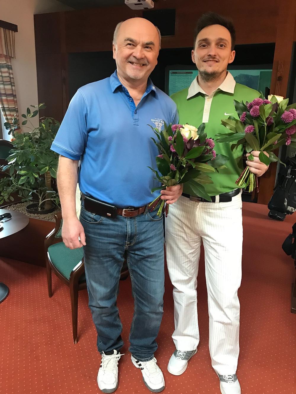 Miroslav Krúžel a Jozef Vrábel -Majstri IGL 2017-2018