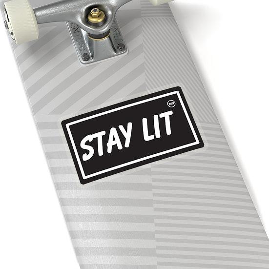 STAY LIT Sticker