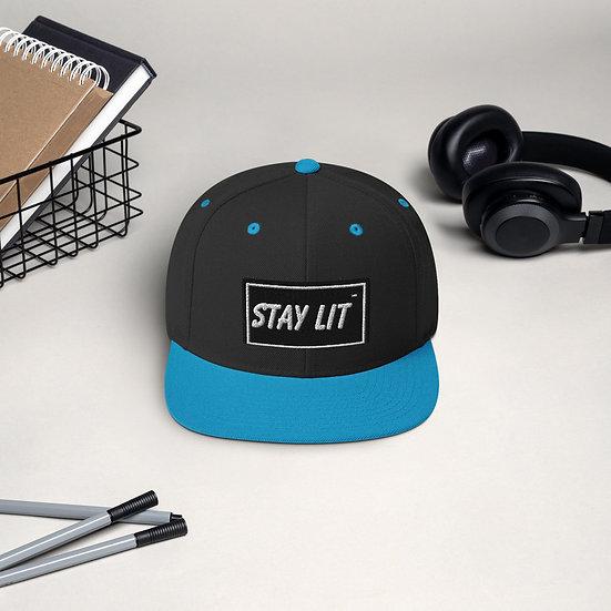 Stay Lit Snapback Hat