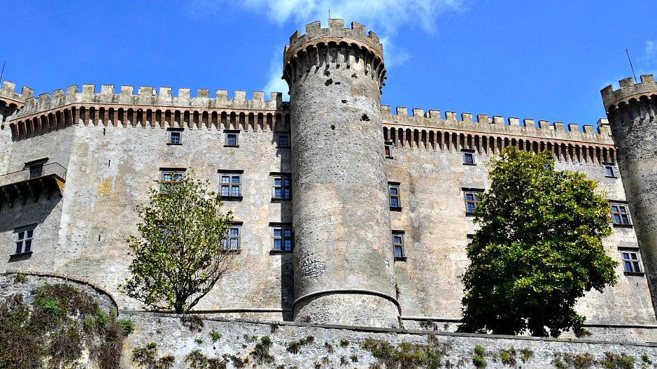 Замок Браччано.