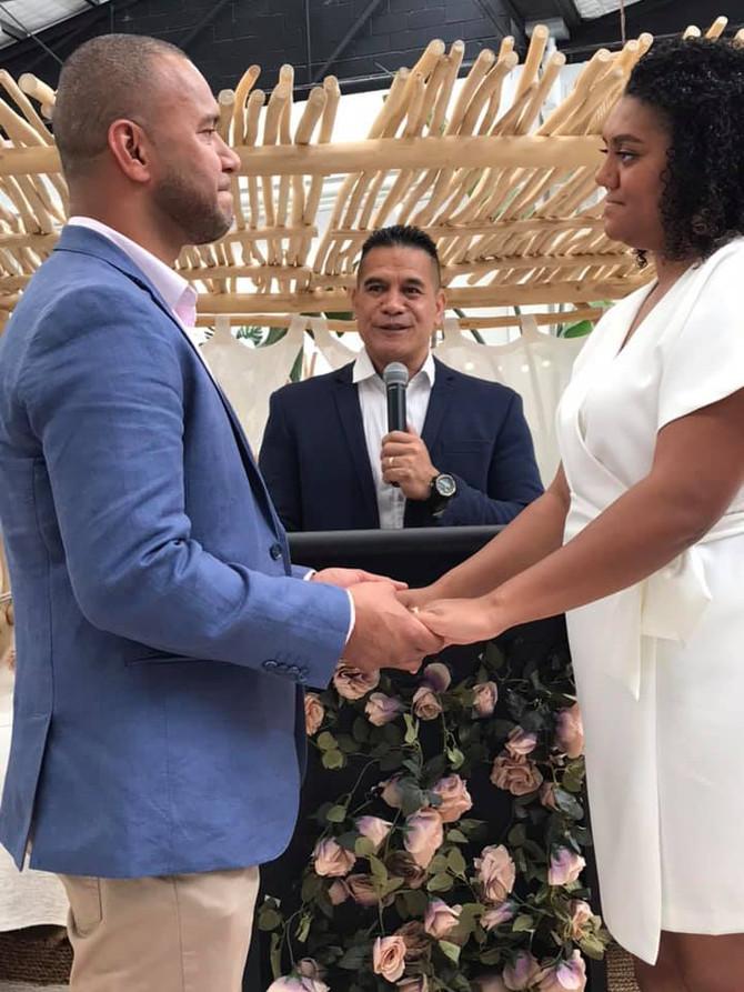 Congratulations to Brian & Lisi Philitoga