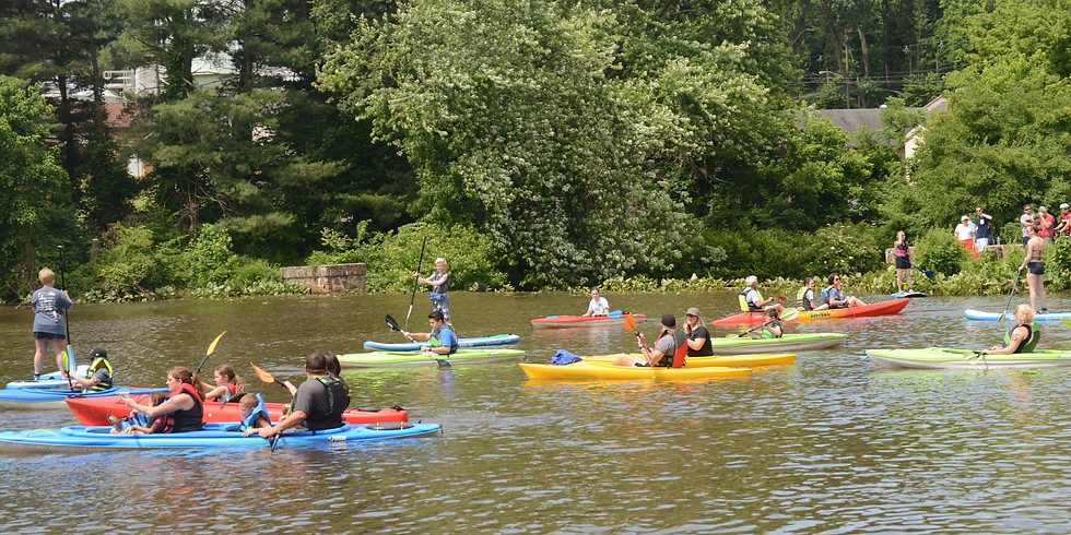 3rd Annual Moorestown Paddle Board/Kayak Race