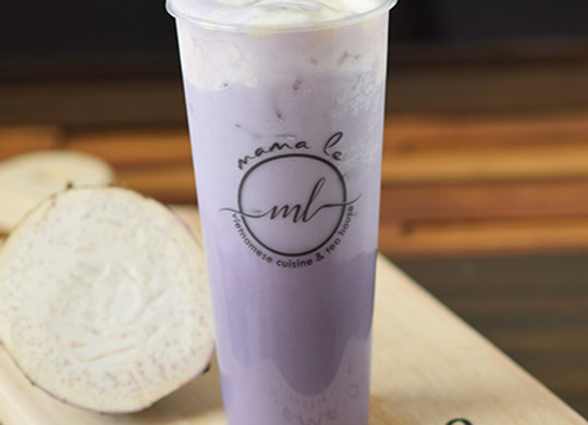 Taro Milk Tea {Trà Sữa Khoai Môn}