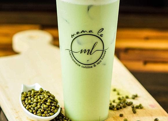 Mung Bean Milk Tea  {Trà Sữa Đậu Xanh Lá Dứa}