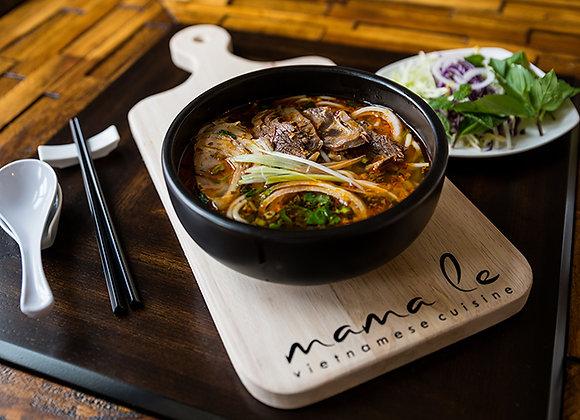 Spicy Beef Noodle Soup {Bún Bò Huế}