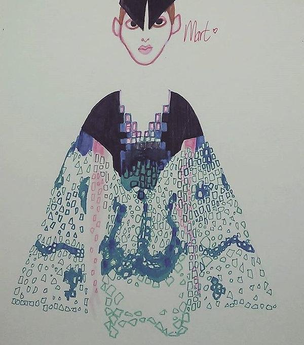 hague magazine, fashion, mode, haguemagazine, iris van herpen, martin de bruin, fashionillustration, dutch design