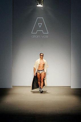 Allan Vos fashion designer portrait