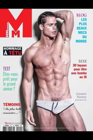Allan Vos on Mmensuel Magazine
