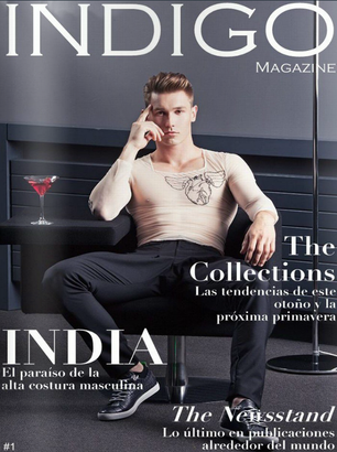 Allan Vos in Indigo Magazine