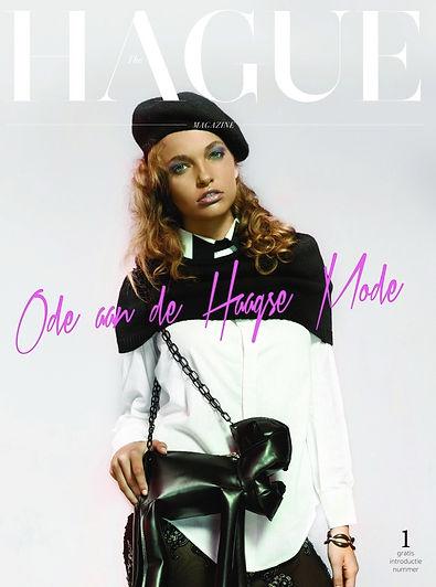 hague magazine, the hague, den haag, mode, fashion, herman van gestel, cover, les soeurs rouges, allan vos, michelangelo winklaar, model