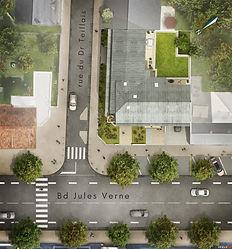 ATARAXIA - Boulevard Jules Verne - plan