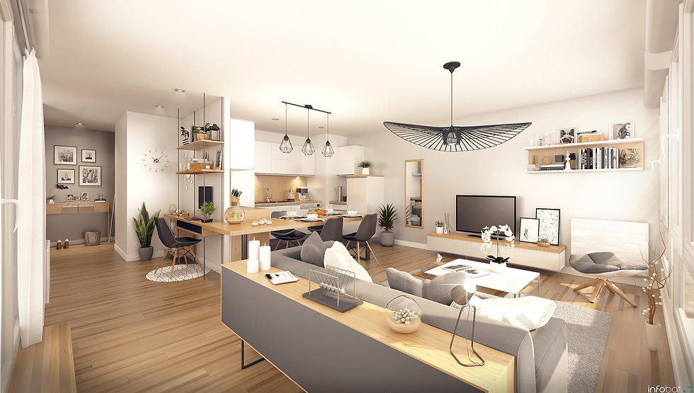 BOUYGUES IMMOBILIER - Symbioz - Illustra