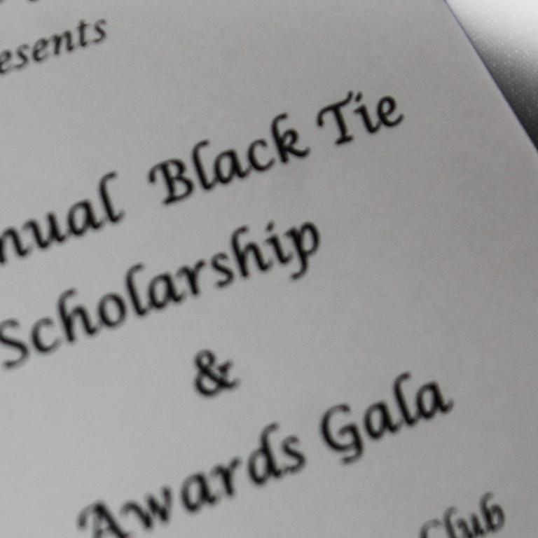 Annual Black Tie Scholarship & Awards Gala