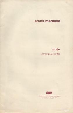 MARQUEZ ARTURO Viraje para arpa y cuerdas 01.jpg