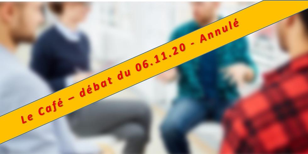 Café-Débats : Scrutin fédéral du 29.11.2020