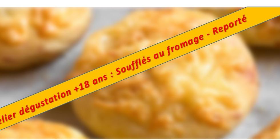 Atelier : Soufflé au fromage