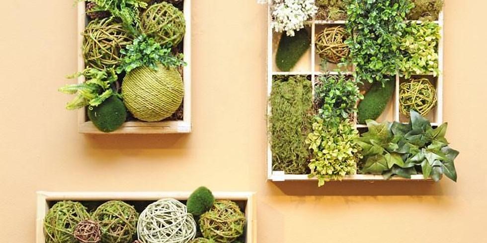 Atelier AIM - B/D : Mon mur végétal !