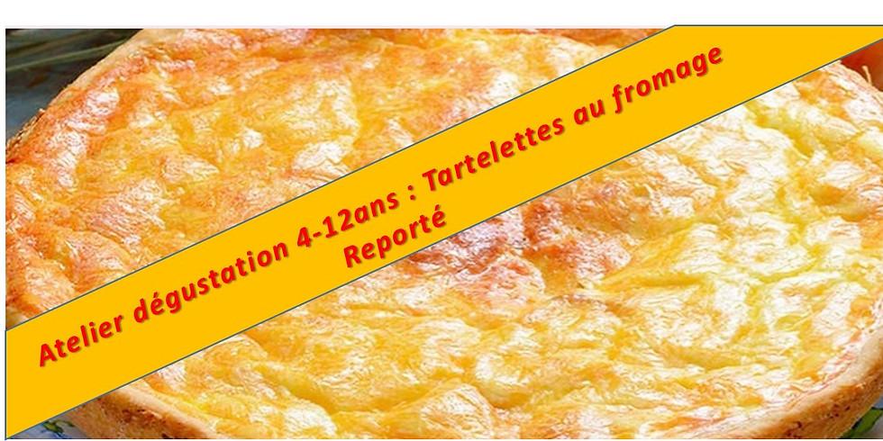 Papilles en joie : Tartelettes au fromages