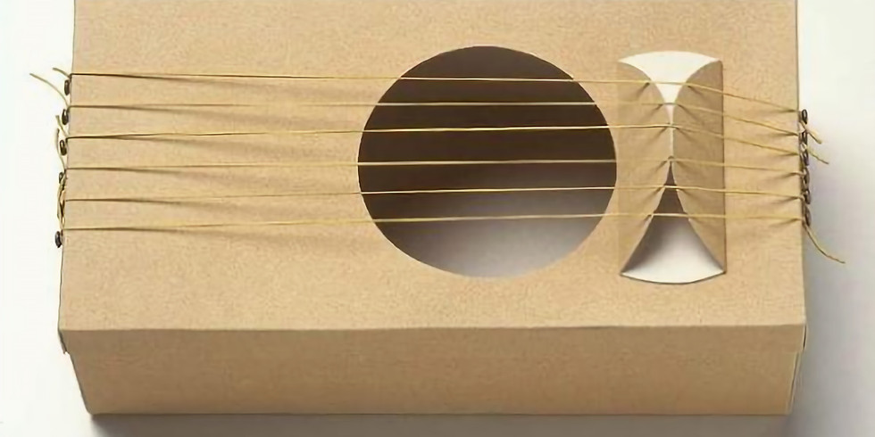 Atelier BND : Fabrique ton  instrument de musique ! Partie 1/2