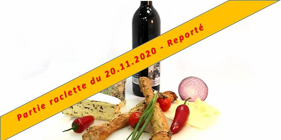 Partie raclette !