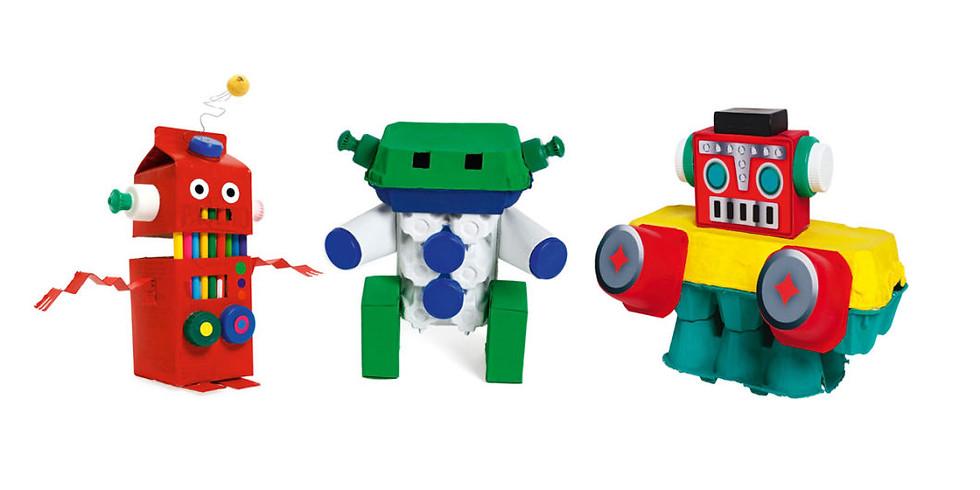 Atelier DEC :  Mon robot super écolo !
