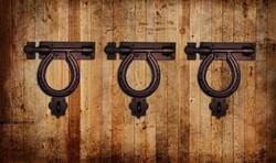 Horseshoe Gate Latch