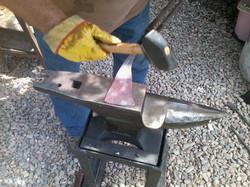 Donn Wagner, Blacksmith in Arizona