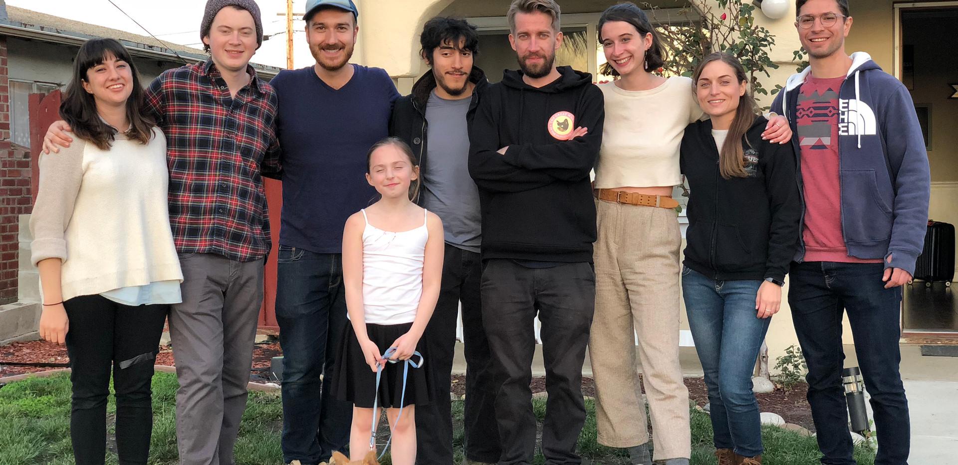 Cast and crew photo for Celia