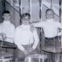 """Frank's First Band, """"The Night Raiders"""""""