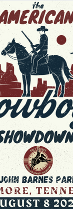 The American Cowboy Showdown • Ardmore, TN • Collectible Poster