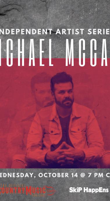 Michael McCall Tune In Graphic
