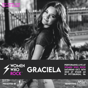 "Teenage Pop Recording Artist, Graciela, Named ""Rising Star"" by Women Who Rock Organization"