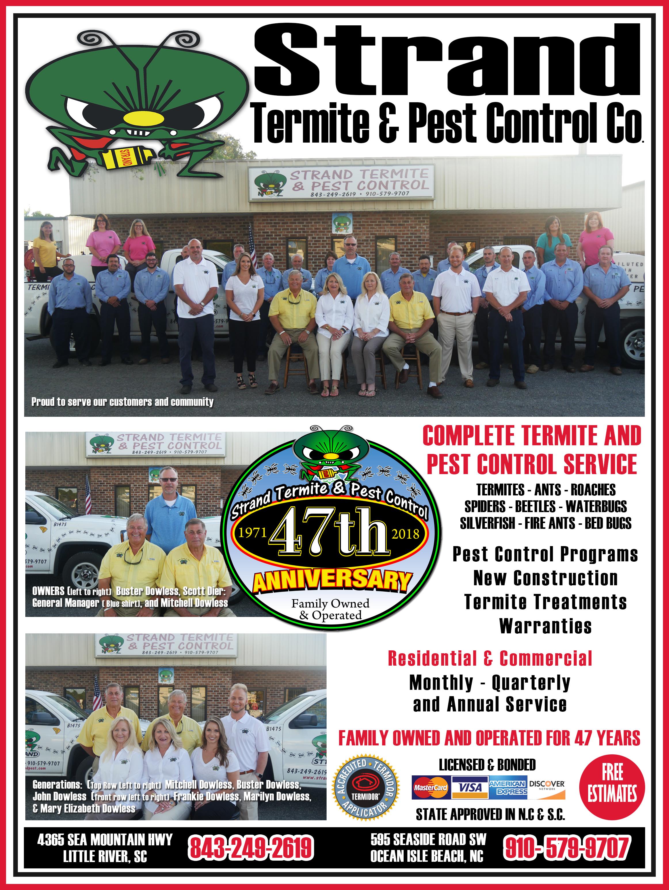 Strand Termite control