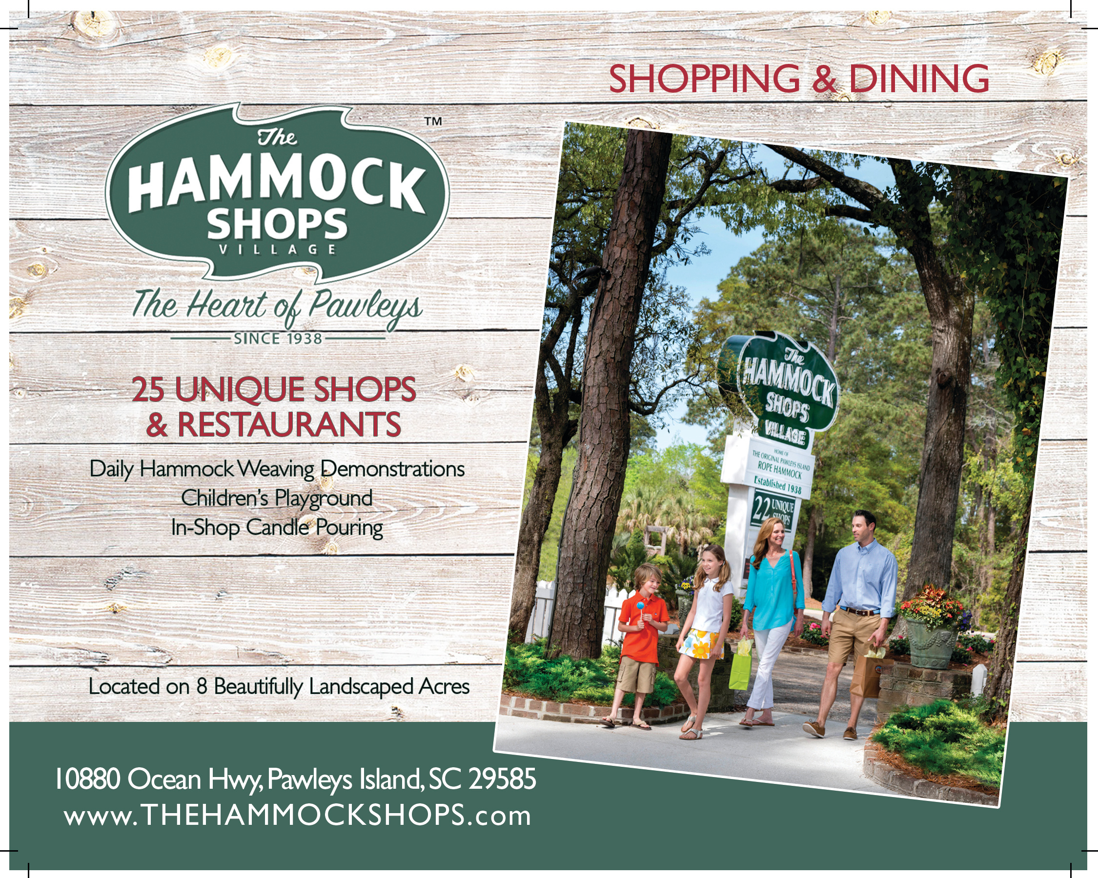 The Hammock Shops Print Ad