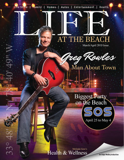LIFE at the beach rowles cover 2