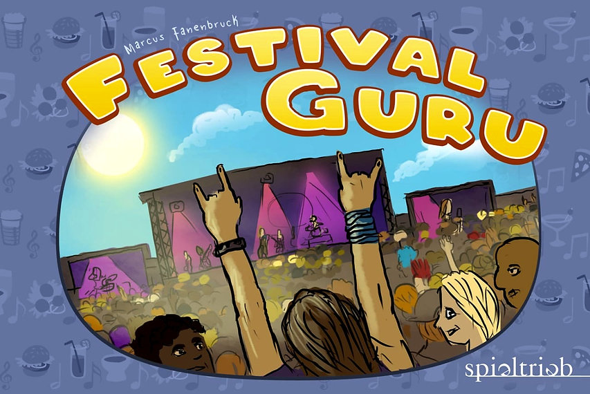 Festival Guru Game. World's most interactive card game. Click to view our Kickstarter crowdfunding campaign launching in 2021